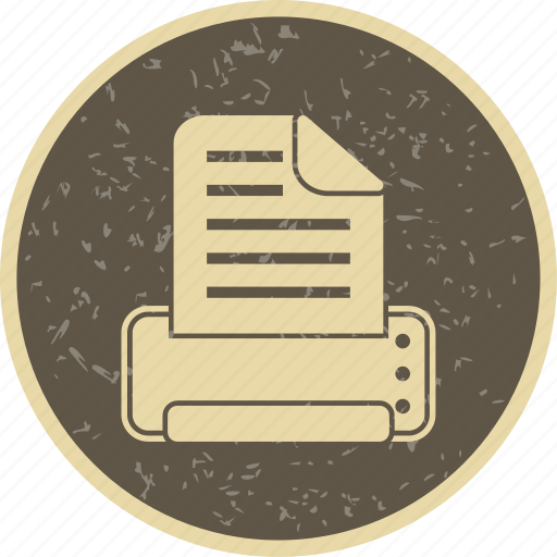 paper, printer, printing icon