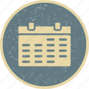 calendar, month, schedule icon