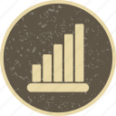 analysis, graph, statistics icon