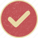 approve, checked, done, good, tick, valid icon