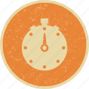 countdown, speed, stopwatch, timepiece, watch icon