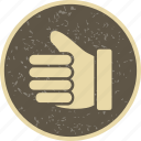 good luck, like, thumbs up icon