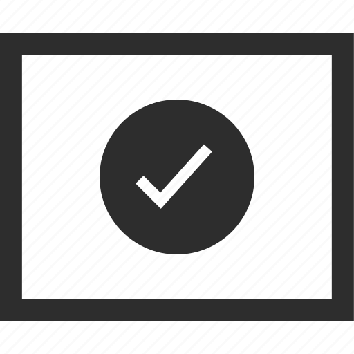 check, circle, mark, web, wireframes icon