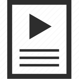 description, play, web, wireframes icon