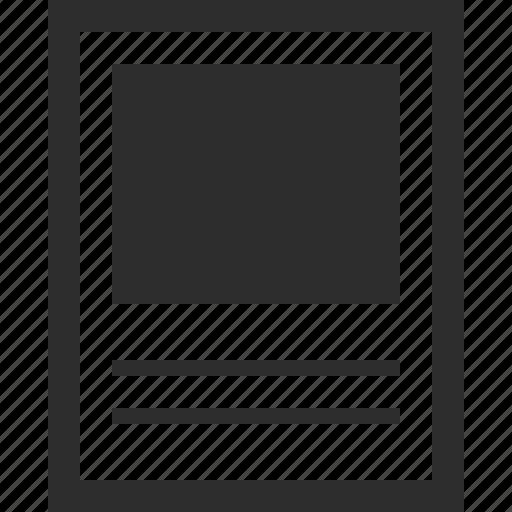 huge, photo, web, wireframes icon