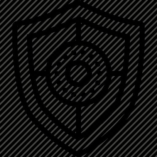 Aegis, bulwark, defense, escutcheon, safeguard, security, shield icon - Download on Iconfinder