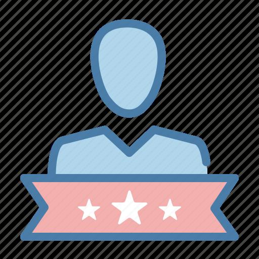customer, pro member, profile, vip user icon