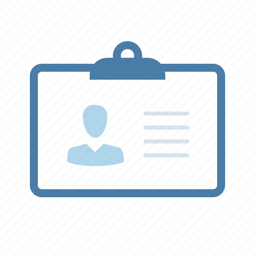 account, id card, identification, identity, pass, passport, profile icon