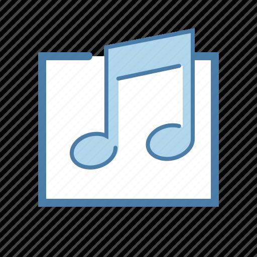 audio, media, mp3, music, note, sound, wav icon