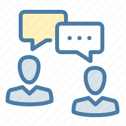 chat, communication, conversation, dialogue, gossips, meeting, talk icon