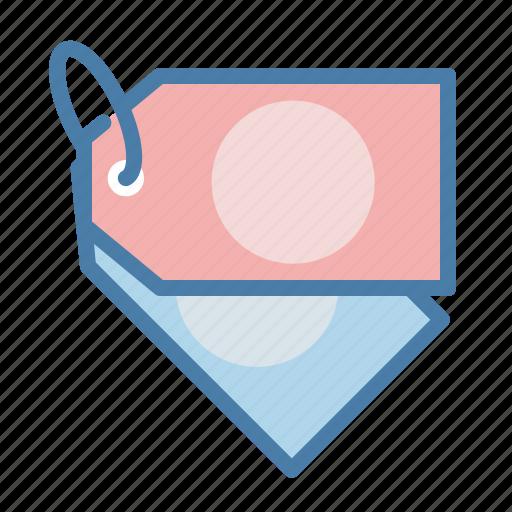 badge, category, description, label, mark, tag, title icon
