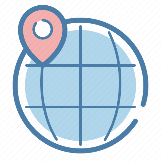 international, local seo, location, marker, network, pin, worldwide icon