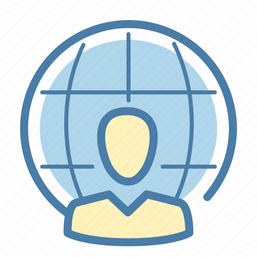 communication, connection, social network, specialist icon
