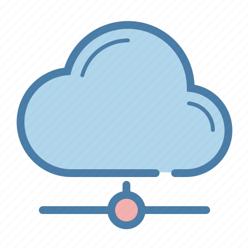cloud, cloud computing, database, network, server, sharing, storage icon