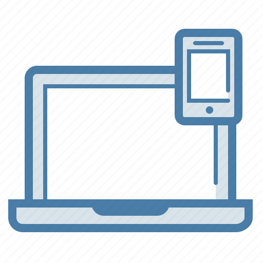 computer, devices, laptop, mobile, phone, responsive, smartphone icon