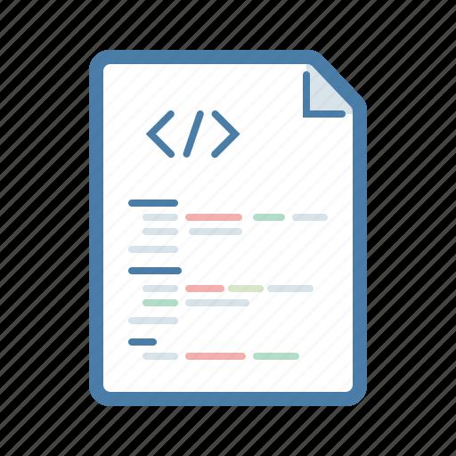 codding, code, development, file, page, programming icon