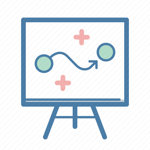 blackboard, business plan, planning, solution, strategy, tactics, way icon