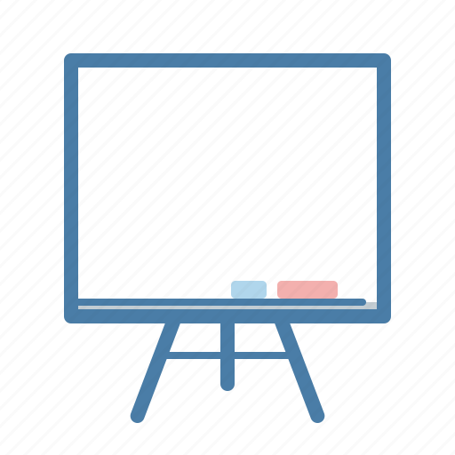 blackboard, education, lecture, presentation, projection, seminar, seo training icon