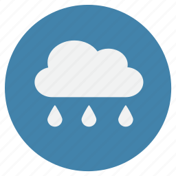 cloud, cold, rain, weather icon