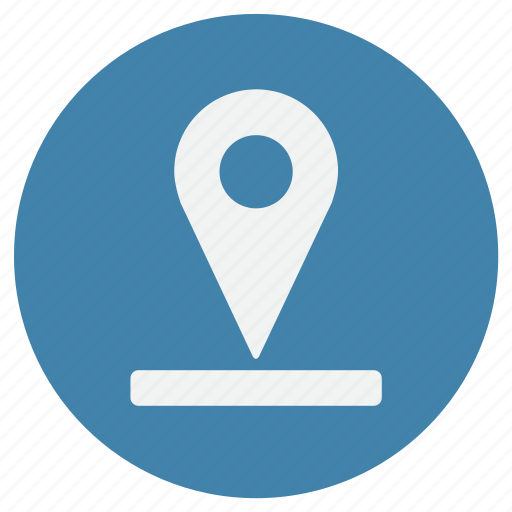 map, place, point, pointer, way icon