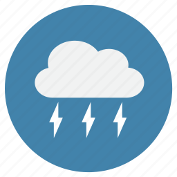 cloud, clouds, flash, lightning, weather icon