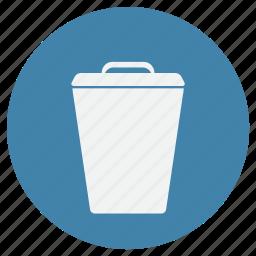 bin, box, recycle, remove, trash icon