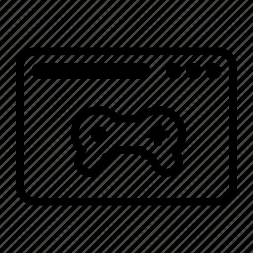 dekstop, game, gamepad, play, seo, website icon