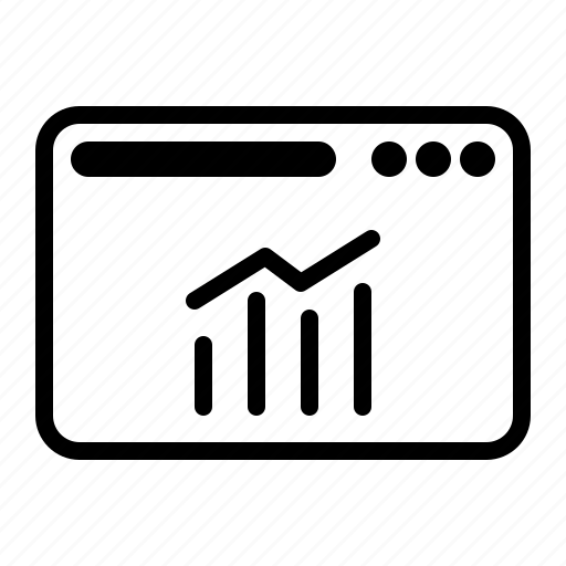 dekstop, seo, stats, website icon