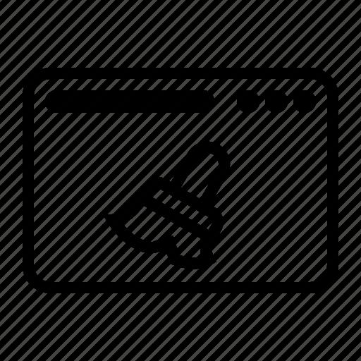 chace, clean, clear, dekstop, seo, website icon