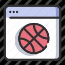 basketball, ball, sport, hoop, player, sports