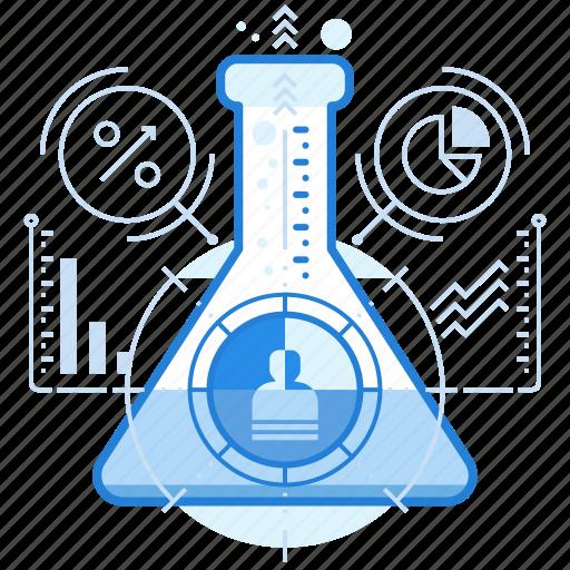 analytics, data analysis, market, research icon