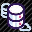 data, database, storage