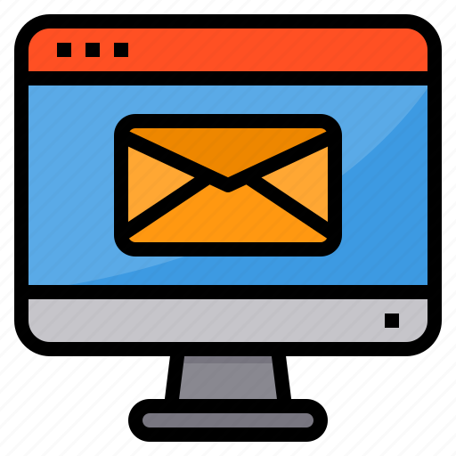 browser, computing, interface, internet, mail, ui icon