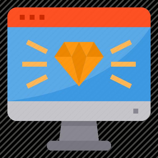 award, browser, computing, interface, internet, ui icon