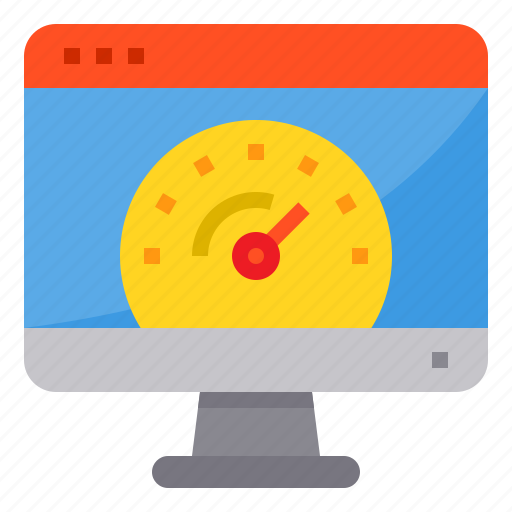 Browser, computing, interface, internet, speed, test, ui icon - Download on Iconfinder