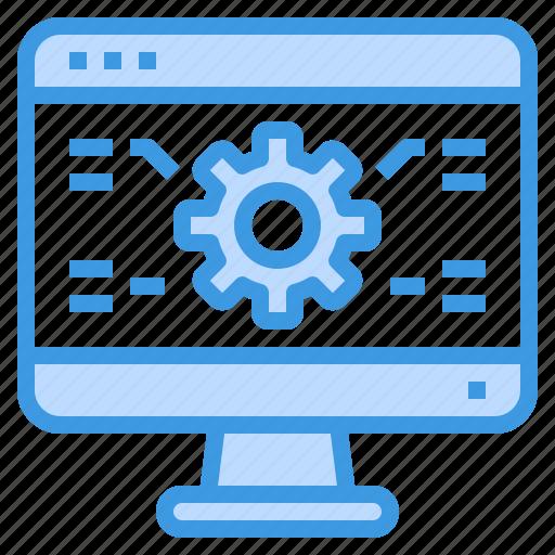 browser, computing, gear, interface, internet, setting, ui icon