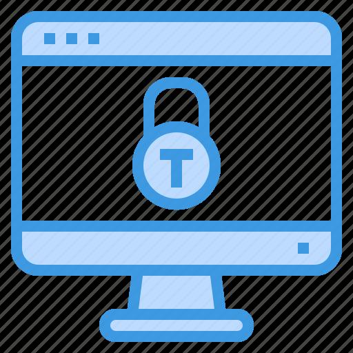 browser, computing, interface, internet, lock, protect, ui icon