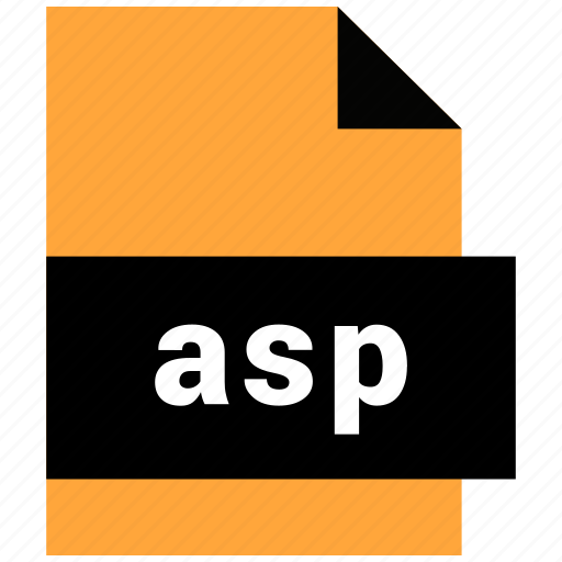 asp, data format, filetype, website file, website file format icon
