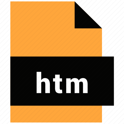 extension, file, file format, htm, website file, website file format icon