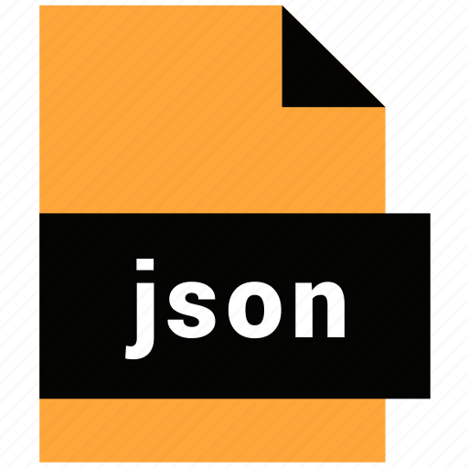 document, file, filetype, json, website file, website file format icon