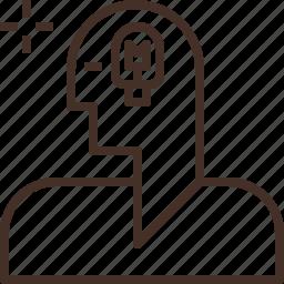 account, avatar, body, human, smart icon