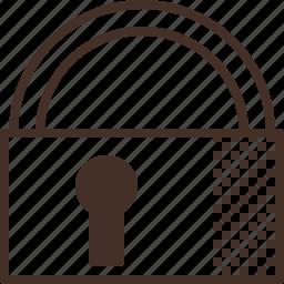 key, lock, restrict, security icon