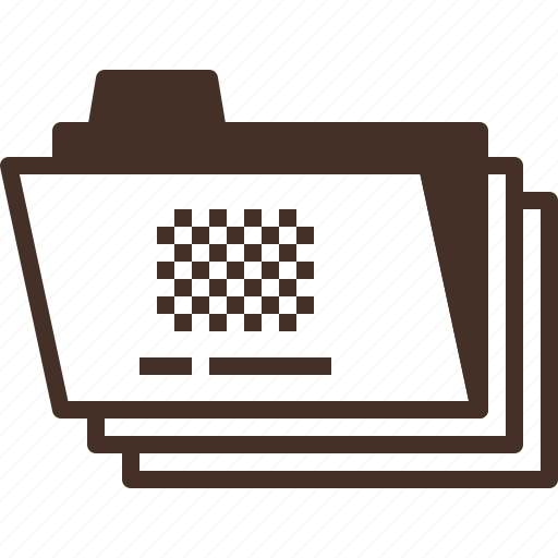 data, file, folder, project icon