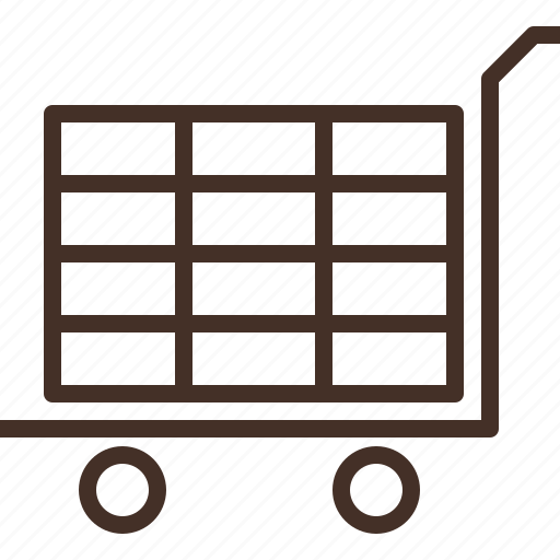 cart, check, shopping, trolley icon