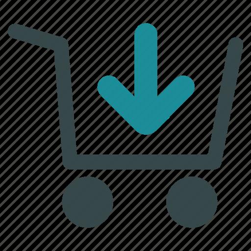 add item, basket, buy, order, product, put, shopping icon