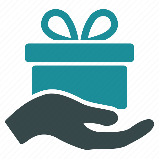 award, free offer, gift, package, present, prize, product icon
