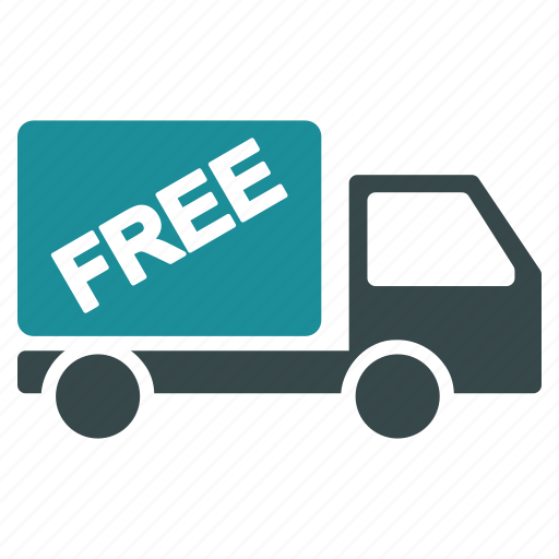 delivery, free, logistics, shipping, transport, truck, vehicle icon