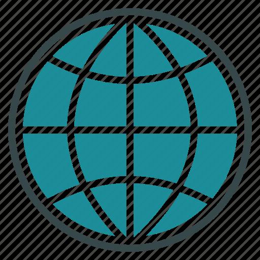 browser, earth, global, globe, map, navigation, world icon