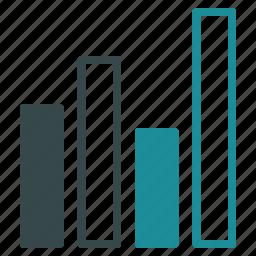 analysis, bar chart, diagram, graph, graphs, growth, increase icon