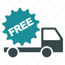 cargo, delivery, free, shipment, shipping, transport, transportation icon